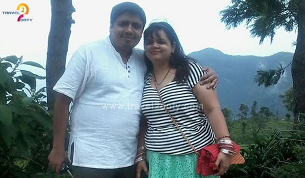 Neha & Saurabh pandey Ooty honeymoon tour packages from Delhi