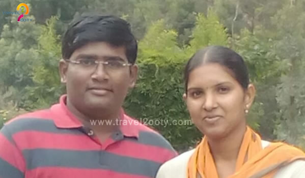 Sakthi & Aarthy   Ooty honeymoon tour packages from Vellore