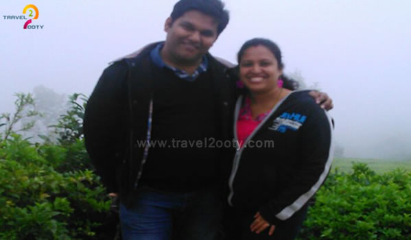 Amrithraj & Shruti, Ooty Tour Packages from Bangalore