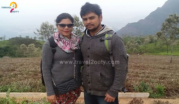 Anuj & Aarti Ooty honeymoon packages from Karnataka