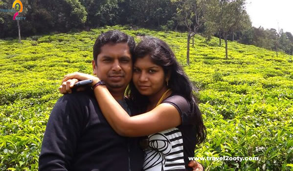 Babu & Priya Ooty honeymoon packages from Kerala