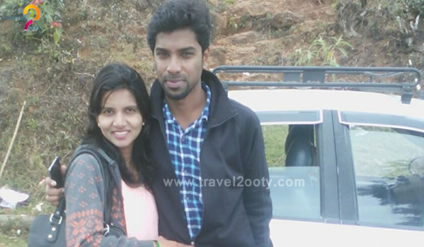 Shashank Dhuri & Amruta  Ooty honeymoon packages from Delhi
