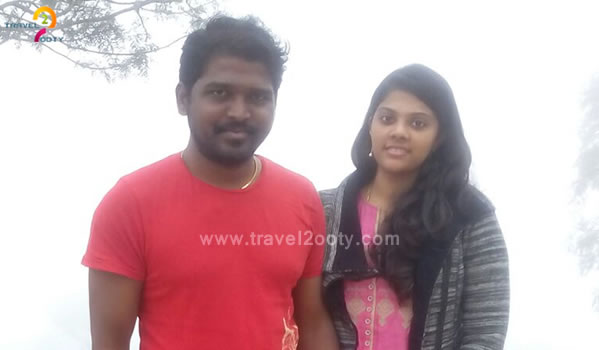Dinesh babu & Kavitha Ooty honeymoon packages from Chennai