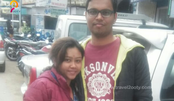 Dinesh & Swathi Ooty honeymoon packages from Bangalore