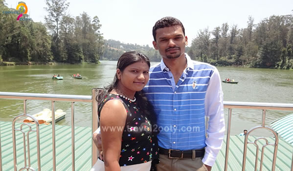 Ganesh & Pratibha   Ooty honeymoon packages from Pune