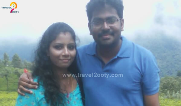 GaneshRam & Lakshmi priya Ooty Honeymoon Tour Packages from chennai