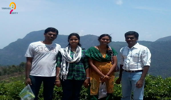 Four Relatives planned and enjoyed the trip in ooty
