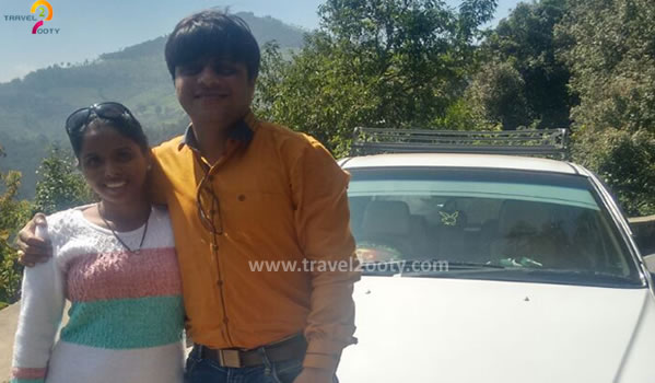 Hemant & Supriya Ooty honeymoon packages from Mumbai