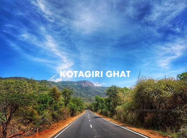 Kotagiri Ghat Road