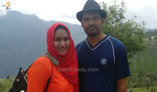 Mohammed & Neha Ooty honeymoon packages from Telangana