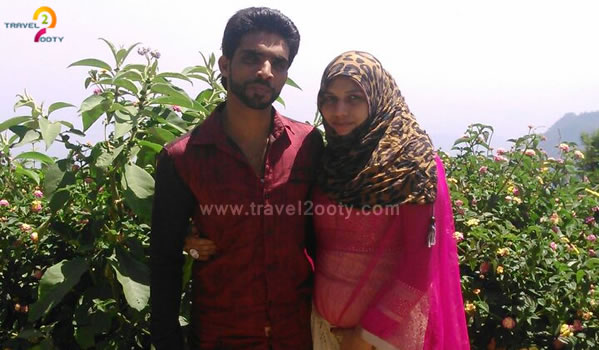 Mohammed Waheed & Asra Sultana, Ooty Honeymoon Packages from Hyderabad