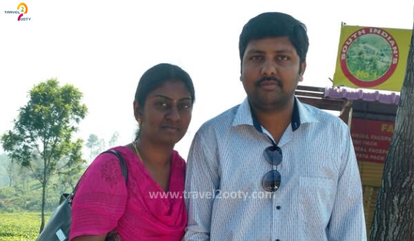 Murali & parimala Ooty honeymoon packages from Coimbatore