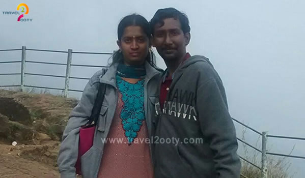 Nareshkumar & Meena, Ooty Tour Packages from Chennai, Old washermenpet
