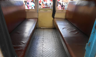 Ooty train first class image