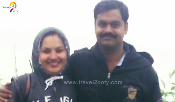 Pradeep & Seha, Ooty Tour Packages from Kerala