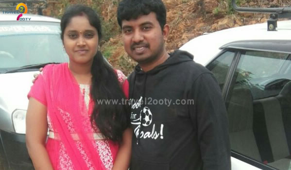 Prasad & Bindu Ooty honeymoon packages from Andhra pradesh