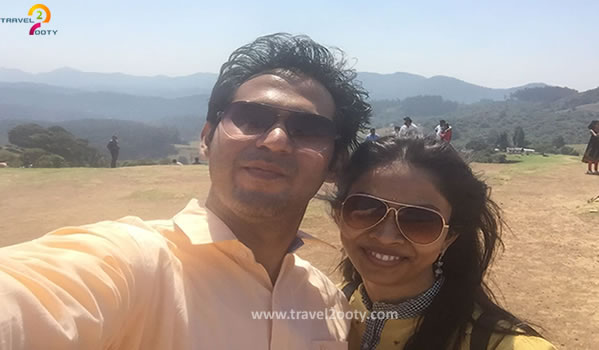 Rahul & Aruna Ooty honeymoon packages from Hyderabad