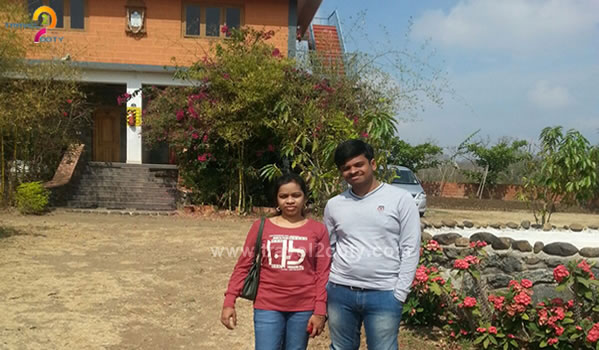 Sandeep & Mamidi  Ooty honeymoon packages from Hyderabad