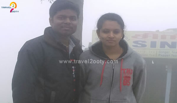 satheesh & aiswarya, Ooty Tour Packages from Attur - Salem