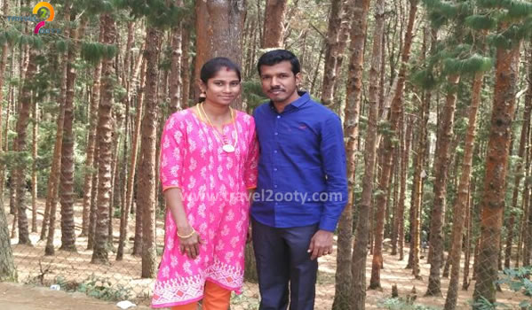 Sathish & Suganya Ooty honeymoon packages from Chennai