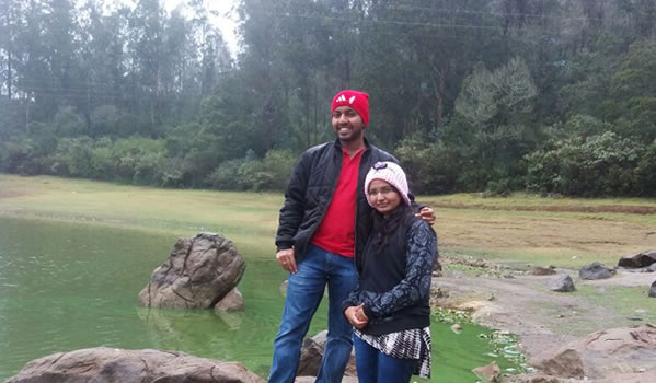 Srikanth & Vidyashree Ooty honeymoon packages from Bengaluru