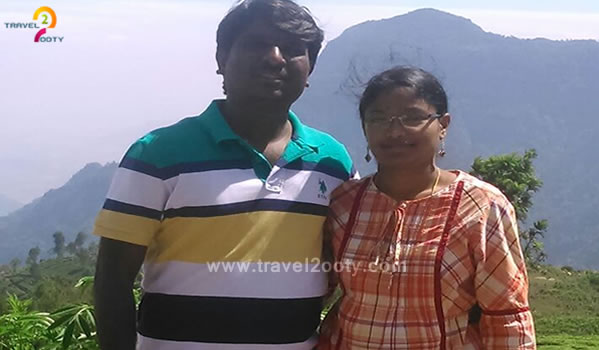 Srinubabu & Sunitha, Ooty Tour Packages from Visakhapatnam -  Andhra Pradesh