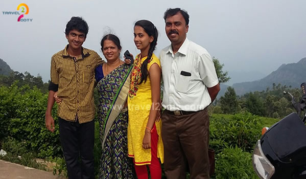 venkatesh and family tour in ooty