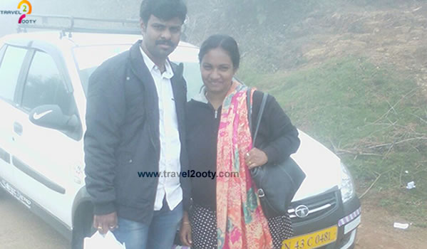 Ashish & Nibedita Ooty honeymoon packages from Chennai