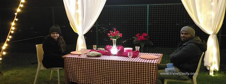 Wedding anniversary in ooty