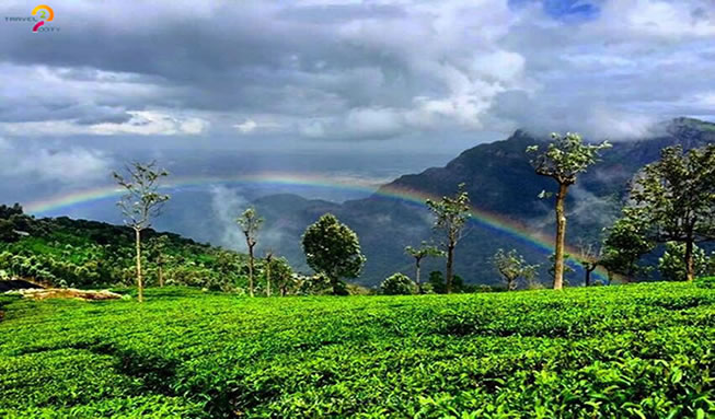Rainbow-view-after-rain-in-Coonoor