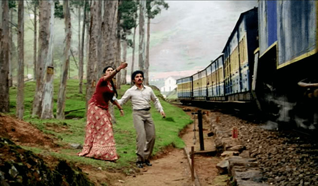 ooty train movie scene