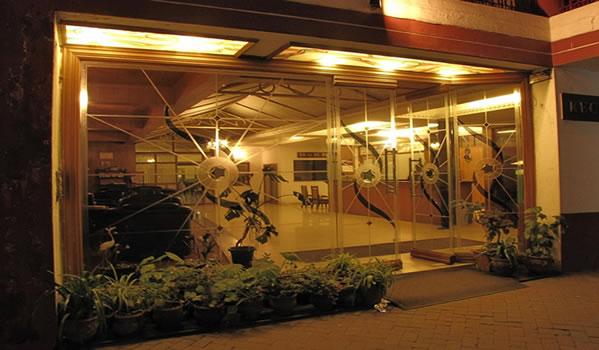 The Paradise Restaurant at Glanton Manor Hotel Ooty
