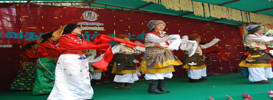 tibetian dance