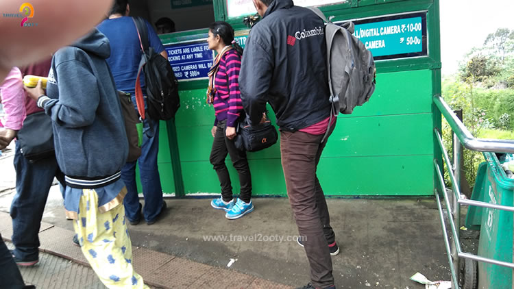 doddabetta ticket counter