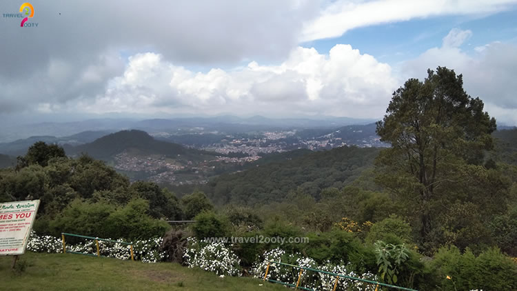 ooty view from doddabetta