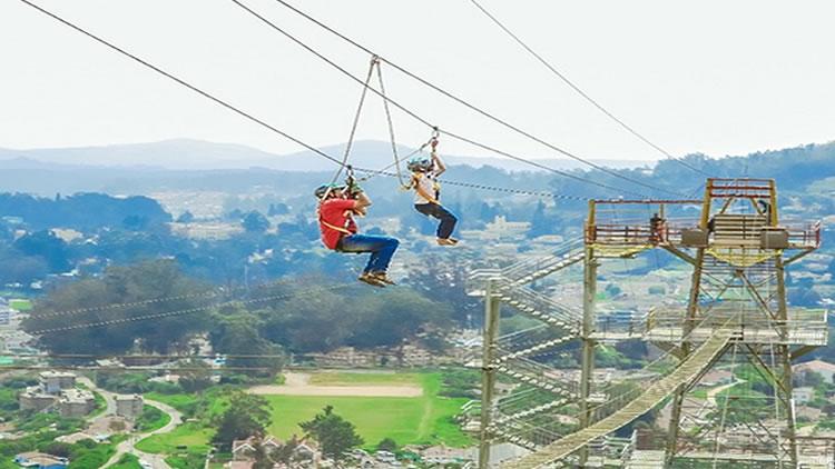 adventure sports zipling in ooty
