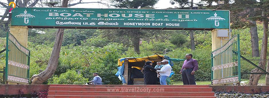 ooty honeymoon boat house