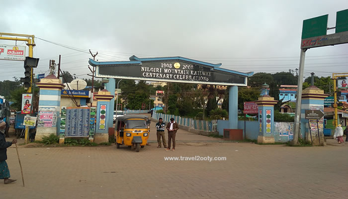 nilgiri mountain railway entrance
