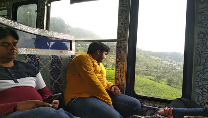 ooty train firstclass